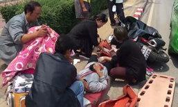 ชื่นชม 2 พยาบาลผู้เสียสละ หยุดช่วยคนเจ็บ ทั้งที่รีบไปขึ้นเครื่องบิน