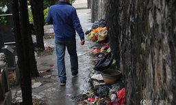 ขยะเต็มสุสาน หลังประชาชนไหว้บรรพบุรุษช่วงเช็งเม้ง