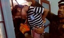 อุทาหรณ์! เด็กหญิง 5 ขวบ ปีนรอดเหล็กดัดหน้าต่างหัวติดออกไม่ได้ แม่รีบแจ้งกู้ภัยเข้าช่วย