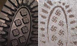 """ฉาวระดับโลก! หนุ่มแชร์รองเท้าตัวเองมีเครื่องหมาย """"นาซี"""""""