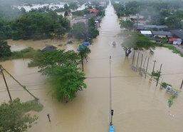 ผู้ว่าฯพัทลุงถกติดตามน้ำท่วม-เดือดร้อน1.28แสนคน
