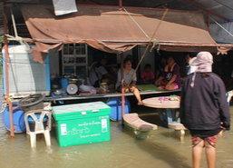 น้ำท่วมขังอ.พุนพิน1.40ม.ปชช.9พันคนทุกข์