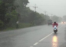 อุตุฯเผยใต้ยังมีฝนหนักบางแห่งคลื่นลมแรงกทม.เย็น