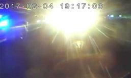 ภาพจากกล้องหลังรถ เผยอีกมุมของเหตุ ลุงวิศวะยิง ม.4