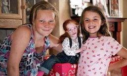 ทัมเบลิน่ามีอยู่จริง! เด็กหญิงวัย 14 ตัวเล็กเท่ากระต่าย