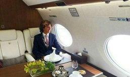 น่าอิจฉาสุดๆ! หนุ่มอังกฤษทำงานทดลองนั่งเครื่องบิน เที่ยวรอบโลก