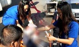 ชื่นชม 'แพทย์หญิง' ขับรถกลับบ้าน พบผู้ประสบอุบัติเหตุ ลงมาช่วยเหลือทันที