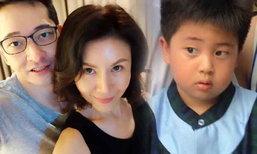 ภาพครอบครัวอบอุ่นของ สุ่ย พรนภา สามีน่ารัก ลูกชายน่าเอ็นดู