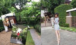 ส่องบ้านหลังใหม่ ออย ธนา จัดสวนเอง สวยร่มรื่นมาก
