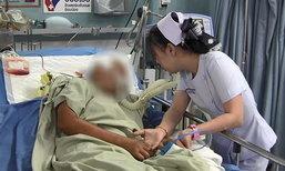 พยาบาลสาวร่ำไห้ แม่ถูกเด็กแว้นซิ่งชน จนเป็นเจ้าหญิงนิทรา