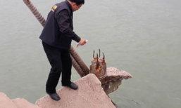 สะพานปลาจันทบุรีทรุดตัวพังถล่ม นศ.เจ็บ 15