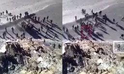 วุ่น! ทหารจีน-อินเดีย ทะเลาะวิวาทปาก้อนหินใส่กันที่แนวชายแดนหิมาลัย