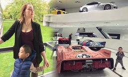 แม่ตั๊ก บงกช พาน้องข้าวหอม ชมพิพิธภัณฑ์รถพอร์ช ที่เยอรมนี