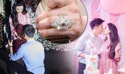 ส่องแหวนเพชรเม็ดโต! ฟ่านปิงปิง เซย์เยสแต่งงาน ลี่เฉิน