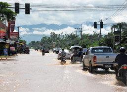 น้ำท่วมเพชรบูรณ์4ต.เข้าสู่ภาวะปกติแต่ชุมชนริมน้ำยังจม