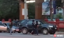 เปิดฉากล่าระทึก หนุ่มค้ายาซิ่งหนียิงสู้ตำรวจกว่า 10 กม.