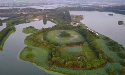 ยอดคน! ชายจีนใช้เงินที่เก็บมานาน 20 ปี สร้างธรรมชาติให้บ้านเกิด