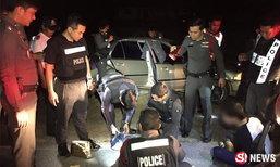 แม่ค้าซิ่งฝ่าด่านแหกเมืองหัวหิน พาแฟนหนีตำรวจลิ่ว 30 กม.