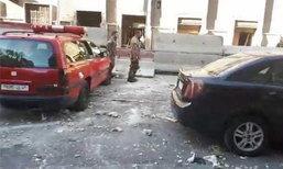 ระเบิดฆ่าตัวตายโจมตีสำนักงานตำรวจในกรุงดามัสกัส ดับ 1 เจ็บ 6