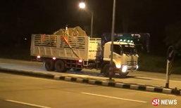 ช้างสีดอถูกเคลื่อนย้ายช้าๆ 10 ชั่วโมง ส่งรักษาถึงศูนย์ฯ ลำปาง