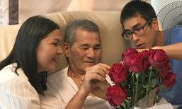 """ลูกชายน่ารัก """"ณเดชน์"""" จัดดอกไม้ให้ ป๊าโยชิโอ ฉลองวันเกิด 73 ปี"""