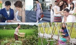ดารานุ่งผ้าไทย สวยใส่จริงในชีวิตประจำวัน