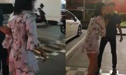 แชร์ว่อนเน็ต สาวเมาอ้วก ถีบหน้าด่ากราดคนขับแท็กซี่