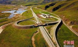 """เปิดแล้ว อุโมงค์ถนน """"สูงสุดในโลก"""" เหนือระดับน้ำทะเลกว่า 4,000 เมตร"""