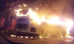 รถบัสไฟลุกกลางเมืองภูเก็ต ทัวร์จีน 36 ชีวิตหนีตายอลหม่าน