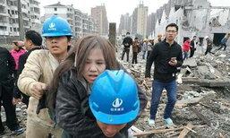 พังราบ เกิดระเบิดที่เมืองหนิงโปของจีน ดับ 2 เจ็บอีกอื้อ