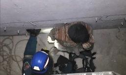 รปภ.ตกลิฟต์ชั้น 3 สถาบันดังย่านเทเวศร์ บาดเจ็บสาหัส
