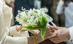 ซูมช่อดอกไม้งานหมั้น มาร์กี้ ป๊อก สวยและแพงมาก