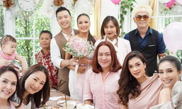 อีฟ กมลชนก บินกลับไทยแต่งงานรอบ 2 ฉลองกับเพื่อนสาว