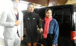 ตูน บอดี้สแลม กลับกรุงเทพฯ แบบส่วนตัว นั่งรถตู้แวะเที่ยวก่อน