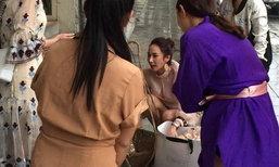อั้ม พัชราภา สวยใจบุญ เหมาขนม-ลอตเตอรี่ คุณยายนั่งข้างถนน
