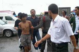 จับ 3 พม่าฆ่านักท่องเที่ยวอังกฤษโยนทะเล