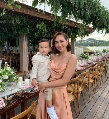 เจนสุดา ปานโต และลูกชาย