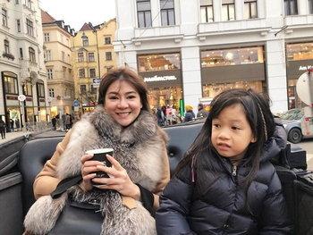 โอ๋ ภัคจีรา และลูกสาว