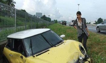 มาริสา แอนนิต้า อุบัติเหตุรถชน ปี 52