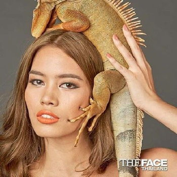 ติช่า The Face Thailand 2