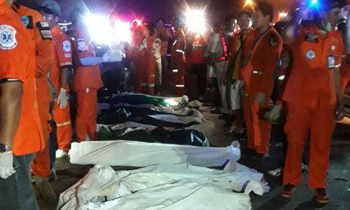 ผู้รอดชีวิตบัสทัวร์ 19 ศพ เผยนาทีเฉียดตาย เมื่อเด็กรถแจ้งเบรกแตก