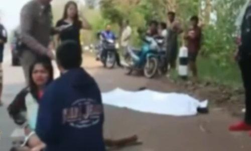 ประเมินผิด กู้ภัยคิดว่าตายคลุมผ้าดิบสาวถูกรถชน เจ้าหน้าที่รพ. มาเจอ CPR จนฟื้น