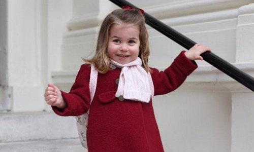 เจ้าหญิงชาร์ลอตต์ เสด็จไปโรงเรียนเตรียมอนุบาลวันแรก