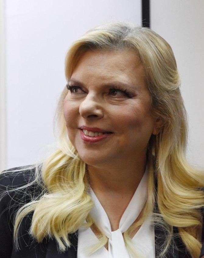 นางซารา เนทันยาฮู ภริยานายกรัฐมนตรีอิสราเอล