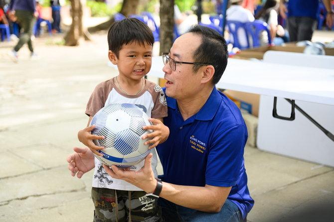 คิง เพาเวอร์ ไทย เพาเวอร์ เดินหน้ามอบความสุขกับ โครงการ 'ล้านลูก ล้านพลัง สร้างฝันเด็กไทย' ปีที่ 3