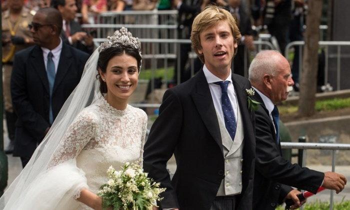 เจ้าชายเยอรมัน เข้าพิธีสมรสหวานชื่น เคียงคู่นางแบบสาวสามัญชน