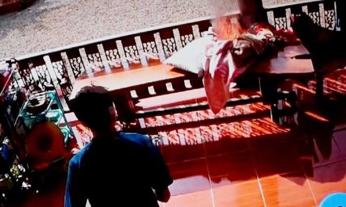 ไฟปริศนายังคงลุกไหม้ต่อเนื่องในบ้านชาวจันทบุรี