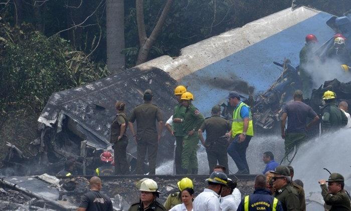 สลด! เครื่องบินคิวบาโหม่งโลกหลังเทกออฟ เสียชีวิตนับร้อยราย