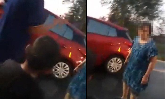 ชาวเน็ตวิจารณ์ยับ คลิปสาวใหญ่ด่ากราดเด็ก 4 ขวบ สาดน้ำสงกรานต์ใส่รถป้ายแดง