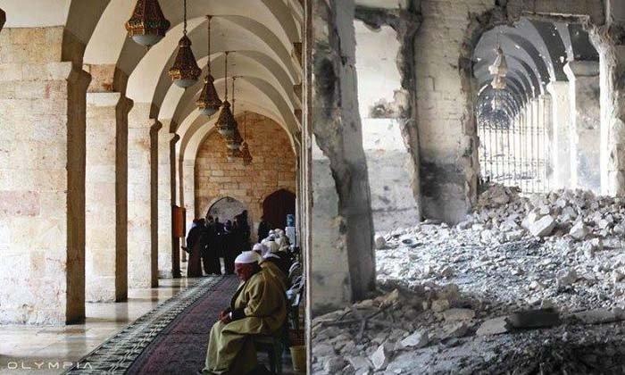 เปิดภาพ ก่อน-หลัง สงครามซีเรีย ยืดเยื้อมานาน 7 ปี
